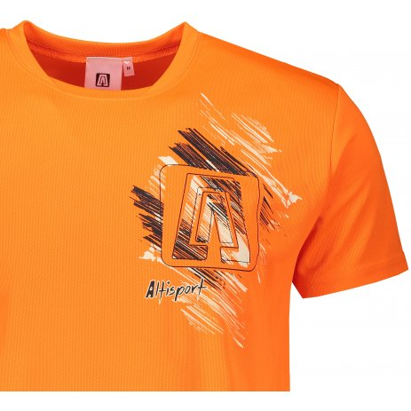 Pánské funkční triko ALTISPORT ALM032124 NEON ORANGE