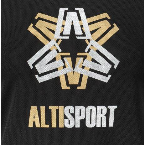 Dámské funkční triko ALTISPORT ALW046140 ČERNÁ