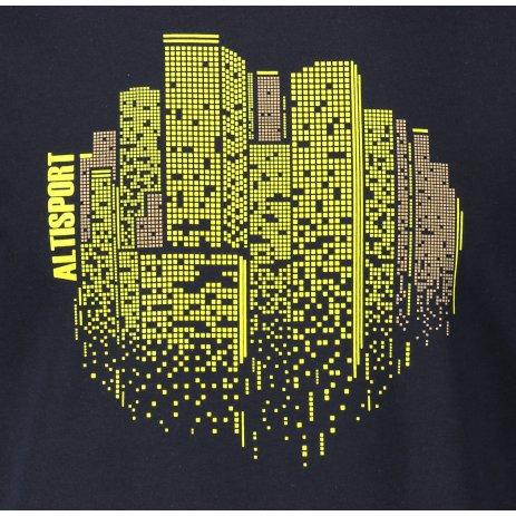 Pánské triko ALTISPORT ALM060129 NÁMOŘNÍ MODRÁ