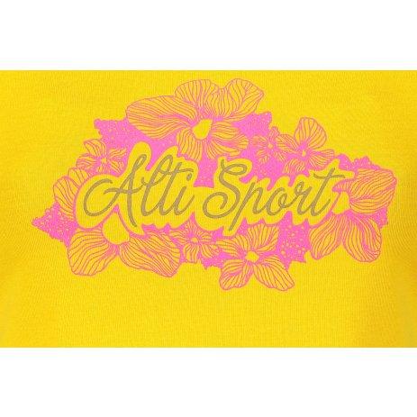 Dámské triko ALTISPORT ALW057122 ŽLUTÁ