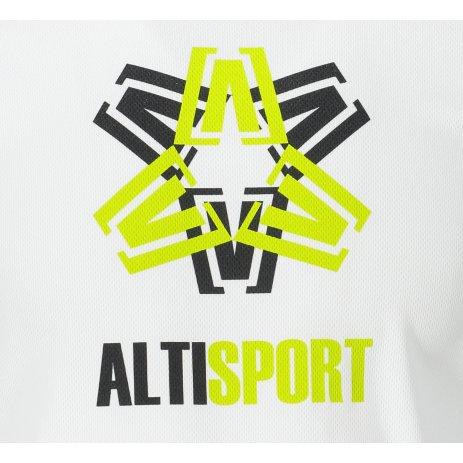 Pánské funkční triko ALTISPORT ALM046124 BÍLÁ
