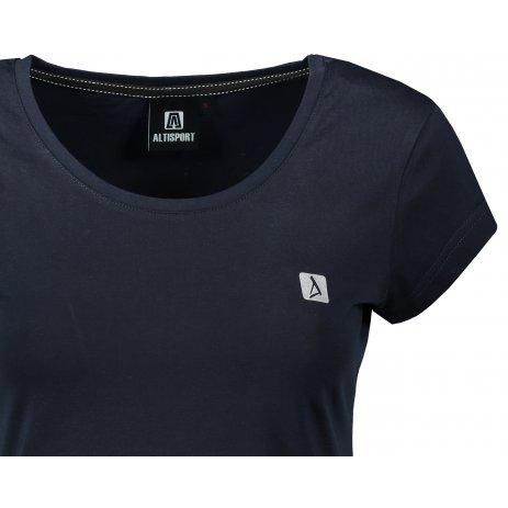 Dámské premium triko ALTISPORT ALW065154 NÁMOŘNÍ MODRÁ