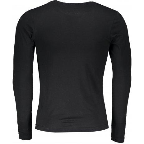 Pánské triko s dlouhým rukávem ALTISPORT ALM032119 ČERNOZLATÁ