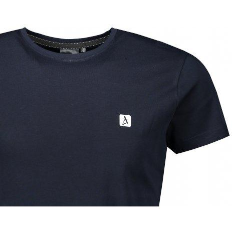 Pánské premium triko ALTISPORT ALM065153 NÁMOŘNÍ MODRÁ