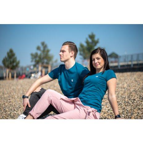 Dámské premium triko ALTISPORT ALW065154 PETROLEJOVÁ