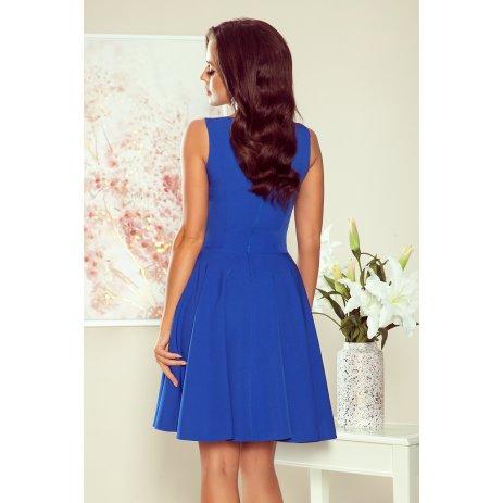 Dámské šaty NUMOCO A114-12 MODRÁ