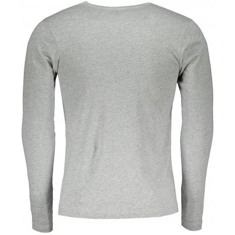 Pánské triko s dlouhým rukávem ALTISPORT ALM032119 TMAVĚ ŠEDÝ MELÍR