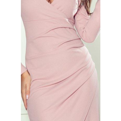 Dámské šaty NUMOCO A290-1 RŮŽOVÁ