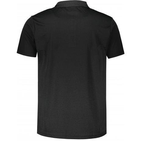 Pánské funkční triko s límečkem ALTISPORT ALM006217 ČERNÁ