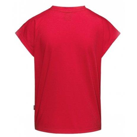 Dámské triko s krátkým rukávem SAM 73 ROBYN WT 814 ČERVENÁ