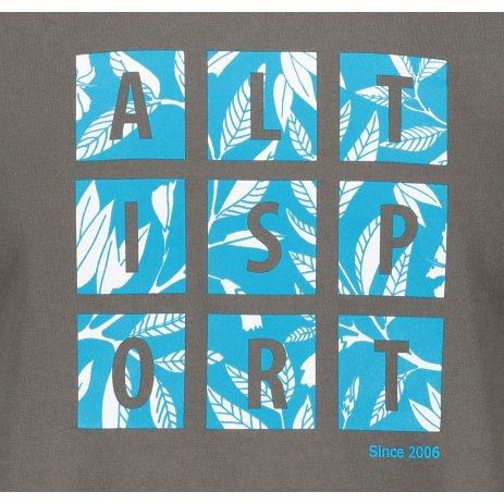 Pánské triko ALTISPORT ALM063129 TMAVÁ BŘÍDLICE