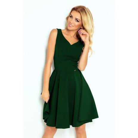 Dámské šaty NUMOCO A114-10 ZELENÁ