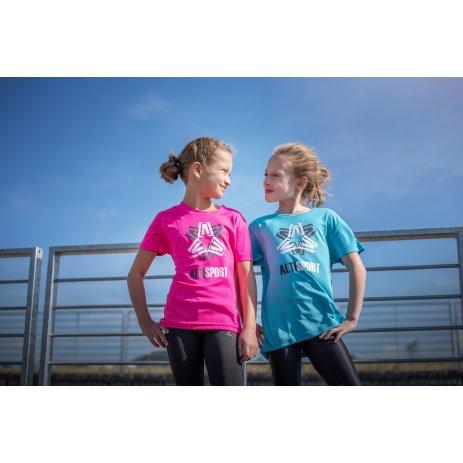 Dětské funkční triko ALTISPORT ALK046147 NEON PINK