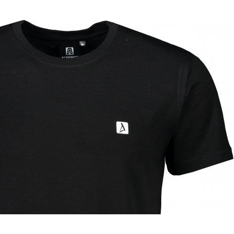 Pánské premium triko ALTISPORT MERINO ALM065157 ČERNÁ