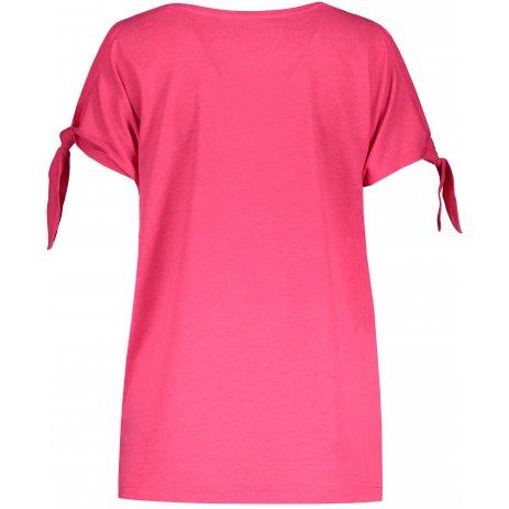Dámské triko s krátkým rukávem ALTISPORT TRUDA LTST773 TMAVĚ RŮŽOVÁ