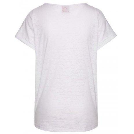 Dámské triko s krátkým rukávem SAM 73 OLIVIA WT 816 BÍLÁ