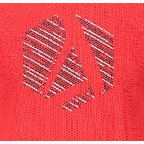 Pánské funkční triko ALTISPORT ALM033124 ČERVENÁ