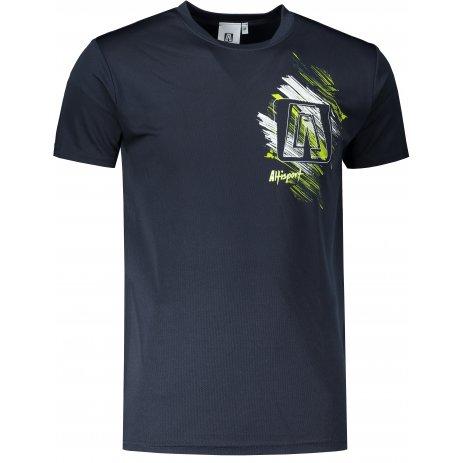 Pánské funkční triko ALTISPORT ALM032124 NÁMOŘNÍ MODRÁ