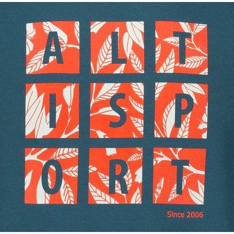 Pánské triko ALTISPORT ALM063129 PETROLEJOVÁ
