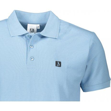 Pánské triko s límečkem ALTISPORT ALM065203 NEBESKY MODRÁ