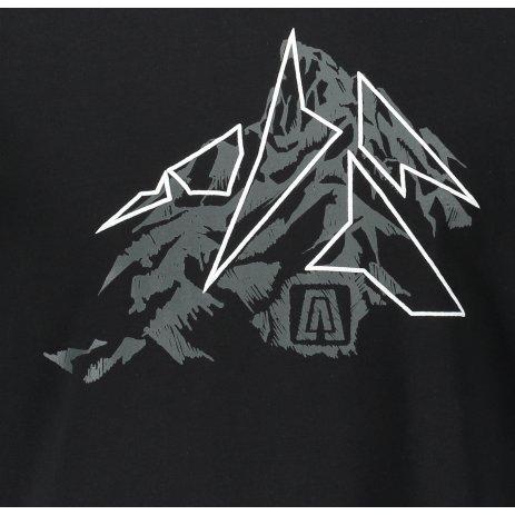 Pánské triko ALTISPORT LEONT MTST645 ČERNÁ