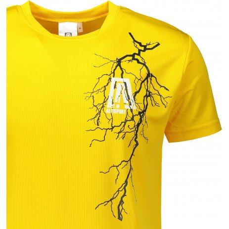 Pánské funkční triko ALTISPORT ALM027124 ŽLUTÁ