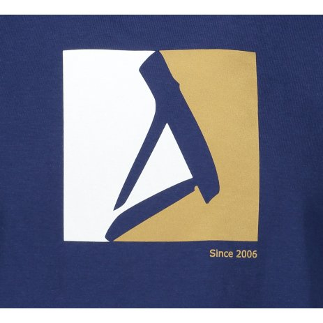 Pánské triko ALTISPORT ALM069129 PŮLNOČNÍ MODRÁ