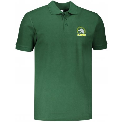 Pánské triko s límečkem ALTISPORT ALM071203 LAHVOVĚ ZELENÁ