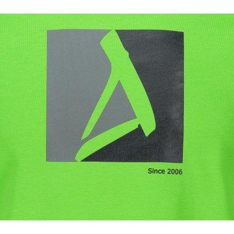 Pánské triko ALTISPORT ALM069129 APPLE GREEN