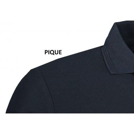 Pánské triko s límečkem ALTISPORT ALM071203 NÁMOŘNÍ MODRÁ
