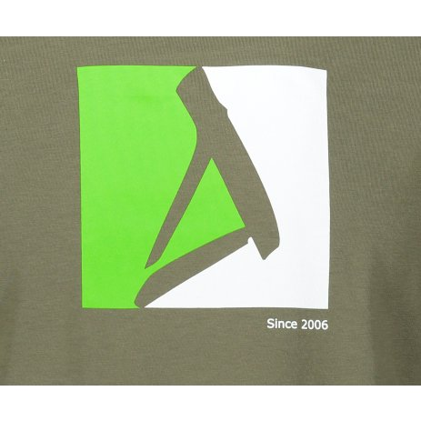 Pánské triko ALTISPORT ALM069129 KHAKI
