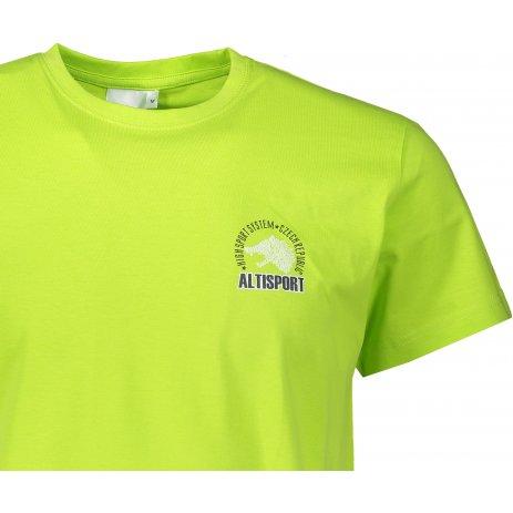 Pánské triko ALTISPORT ALM071129 LIMETKOVÁ