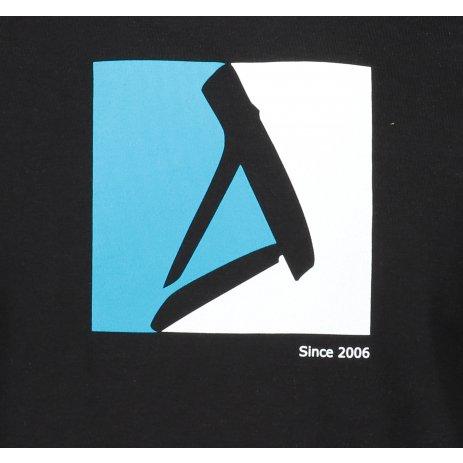 Pánské triko ALTISPORT ALM069129 ČERNOMODRÁ