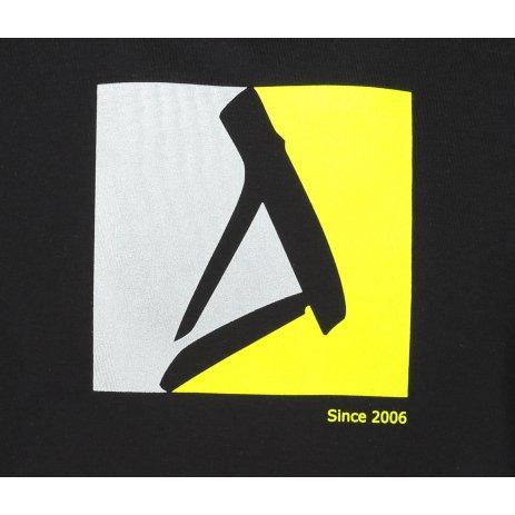 Pánské triko ALTISPORT ALM069129 ČERNOZELENÁ