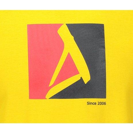 Pánské triko ALTISPORT ALM069129 ŽLUTÁ