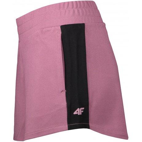 Dámské šortky 4F H4L21-SKDD011 BURGUNDY
