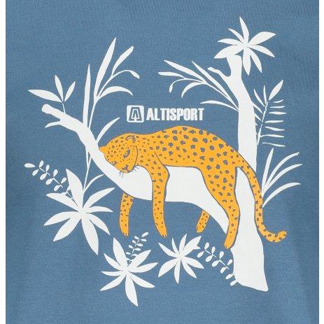 Pánské triko ALTISPORT ALM075129 DENIM