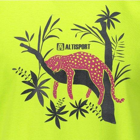 Pánské triko ALTISPORT ALM075129 LIMETKOVÁ