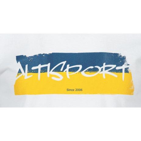 Pánské triko ALTISPORT ALM074129 BÍLÁ