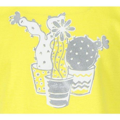 Dětské triko ALTISPORT ALK073138 CITRÓNOVÁ