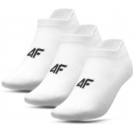 Ponožky 4F H4L21-SOD006 WHITE/WHITE/WHITE
