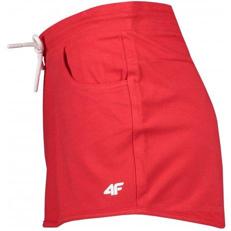 Dámské šortky 4F NOSH4-SKDD001 RED