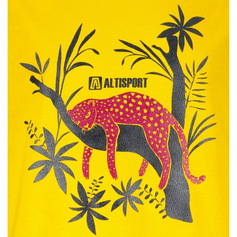 Dětské triko ALTISPORT ALK075138 ŽLUTÁ