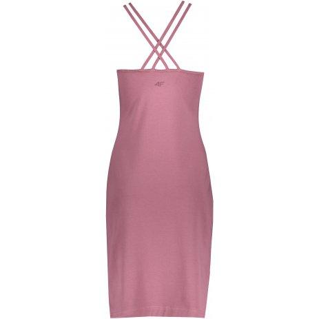 Dámské šaty 4F H4L21-SUDD013 BURGUNDY