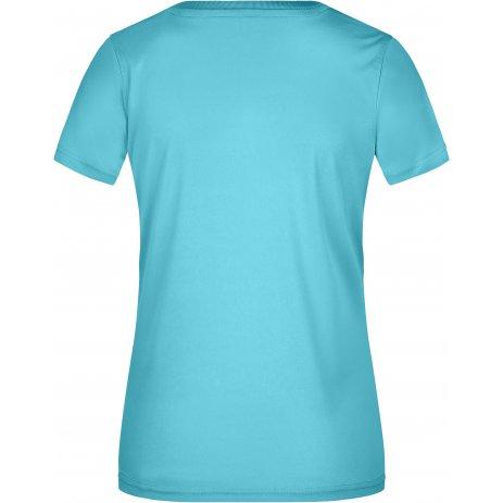 Dámské funkční triko JAMES NICHOLSON JN735 PACIFIC