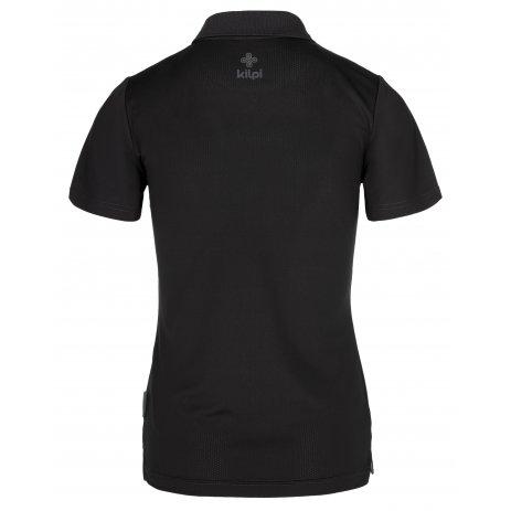 Dámské funkční triko KILPI COLLAR-W PL0113KI ČERNÁ