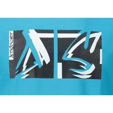Pánské triko ALTISPORT ALM078129 TYRKYSOVÁ