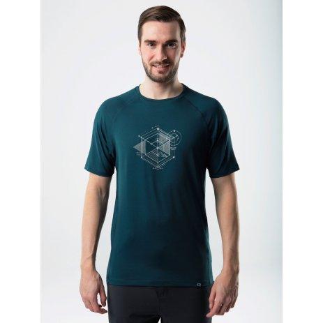 Pánské funkční triko LOAP MYDOW TMAVĚ MODRÁ