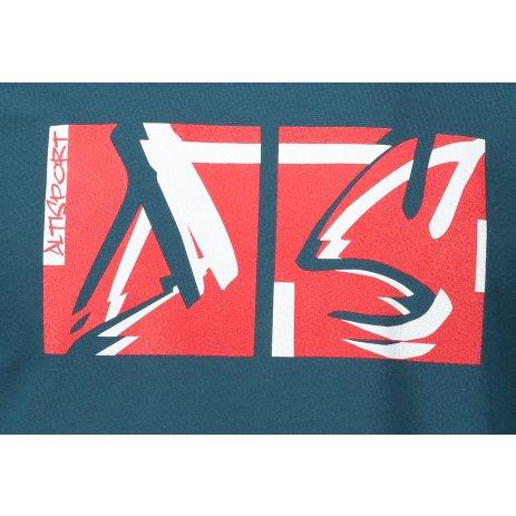 Pánské triko ALTISPORT ALM078129 PETROLEJOVÁ