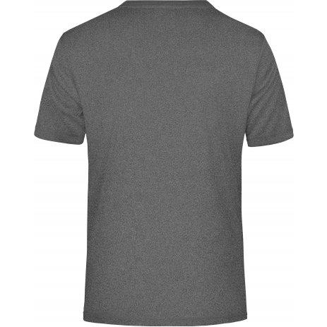 Pánské funkční triko JAMES NICHOLSON JN358 DARK MELANGE